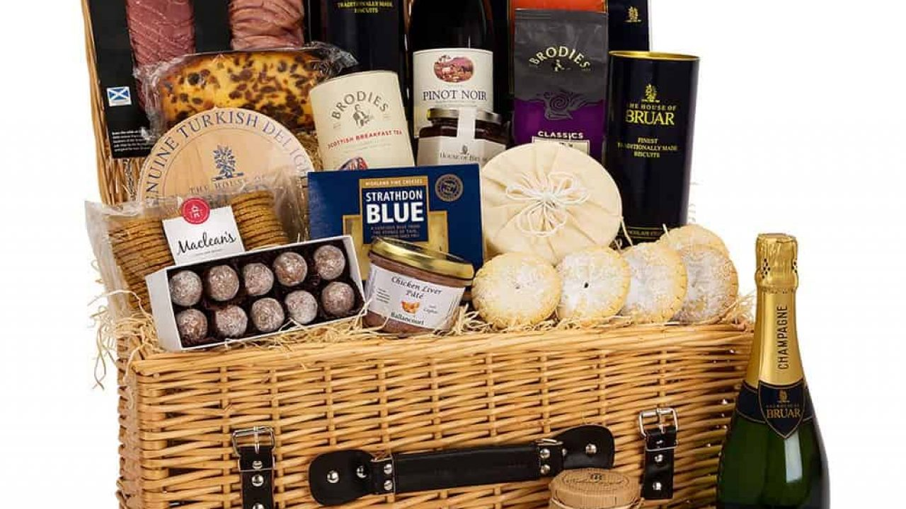 Scottish Food Hampers The Perfect Christmas Gift Taste Of Scotland